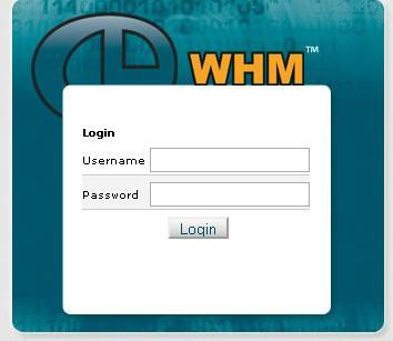 how to connect to whm ssh