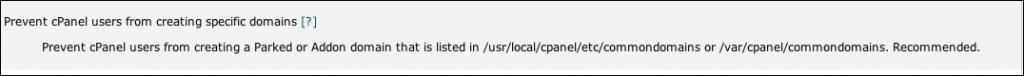 prevent domains