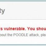 Fix POODLE SSLv3 Vulnerability