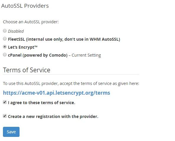 Install Free SSL Let's Encrypt plugin in cPanel - WHM