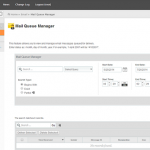 Manage Exim Mail Queue Manager in WHM